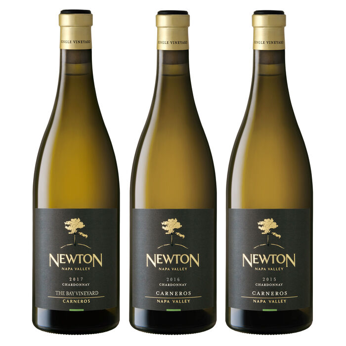 Single Vineyard Chardonnay Carneros Vertical Trio White