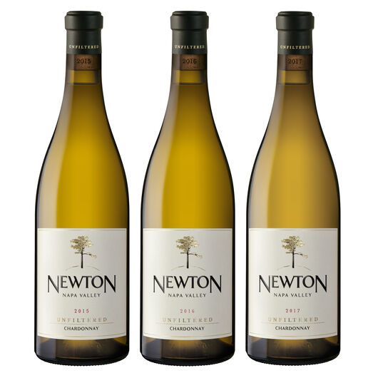 Unfiltered Chardonnay Vertical Trio