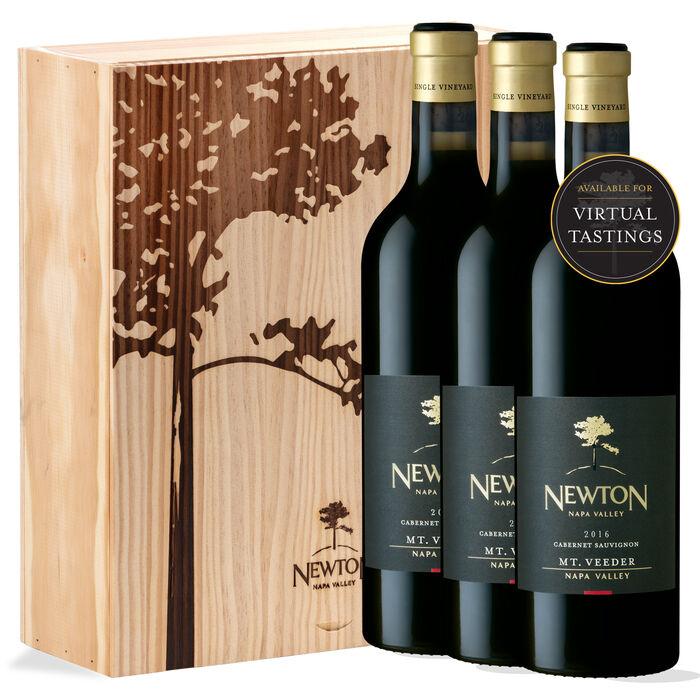 Single Vineyard Cabernet Sauvignon, Mount Veeder Vertical Gift Set Red